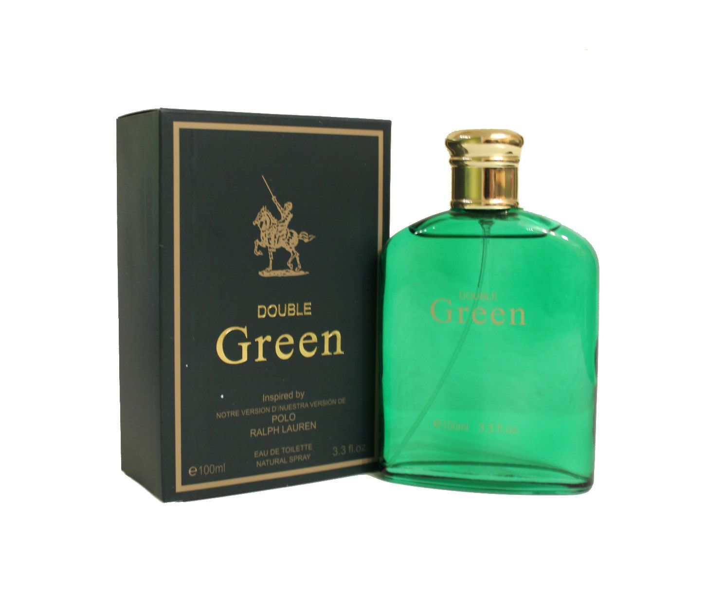 For 100ml Men Our Ralph Version Double Green Lauren Perfume Of Polo cKTl3F1J