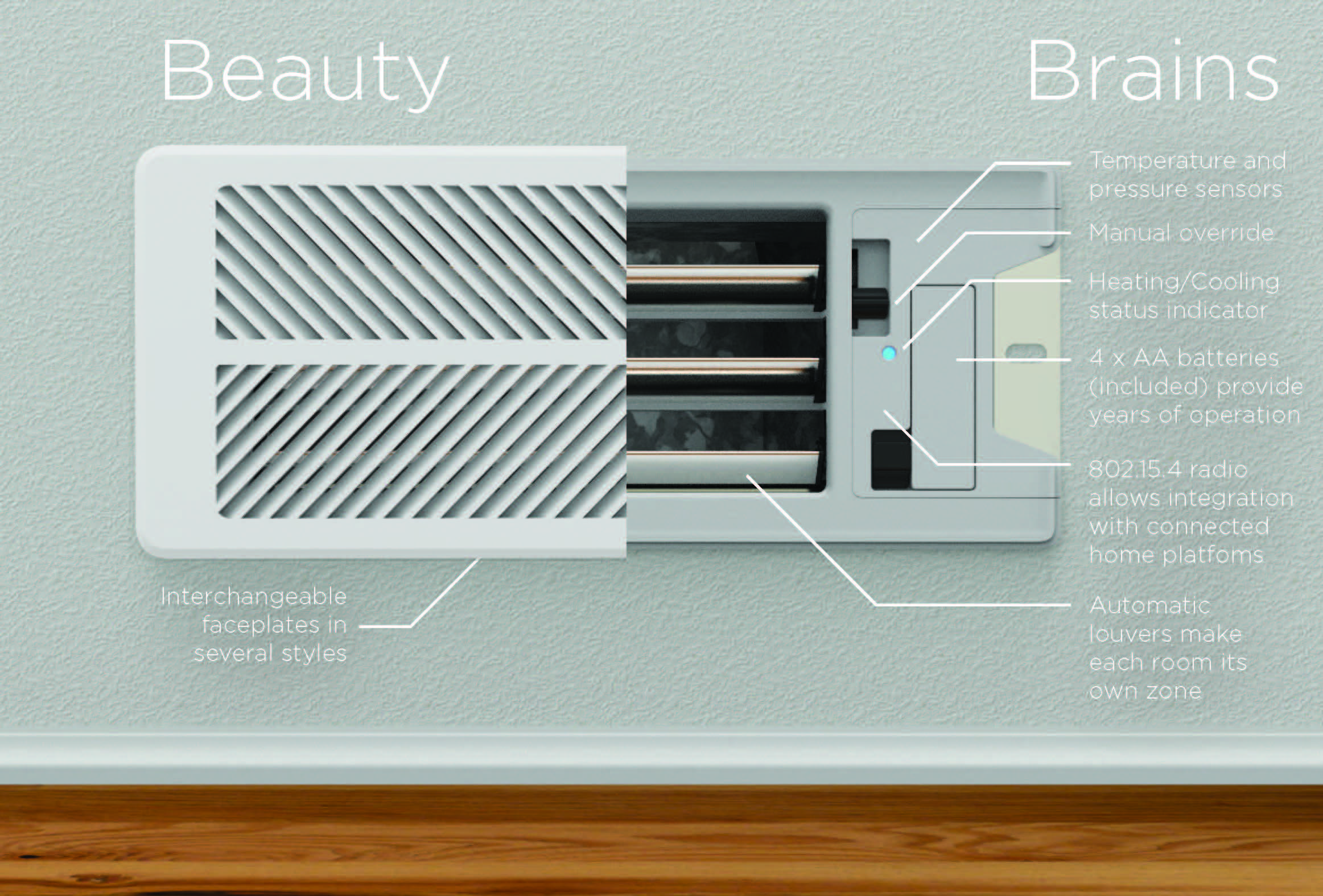 Beauty and Brains, all in one device. Connected home