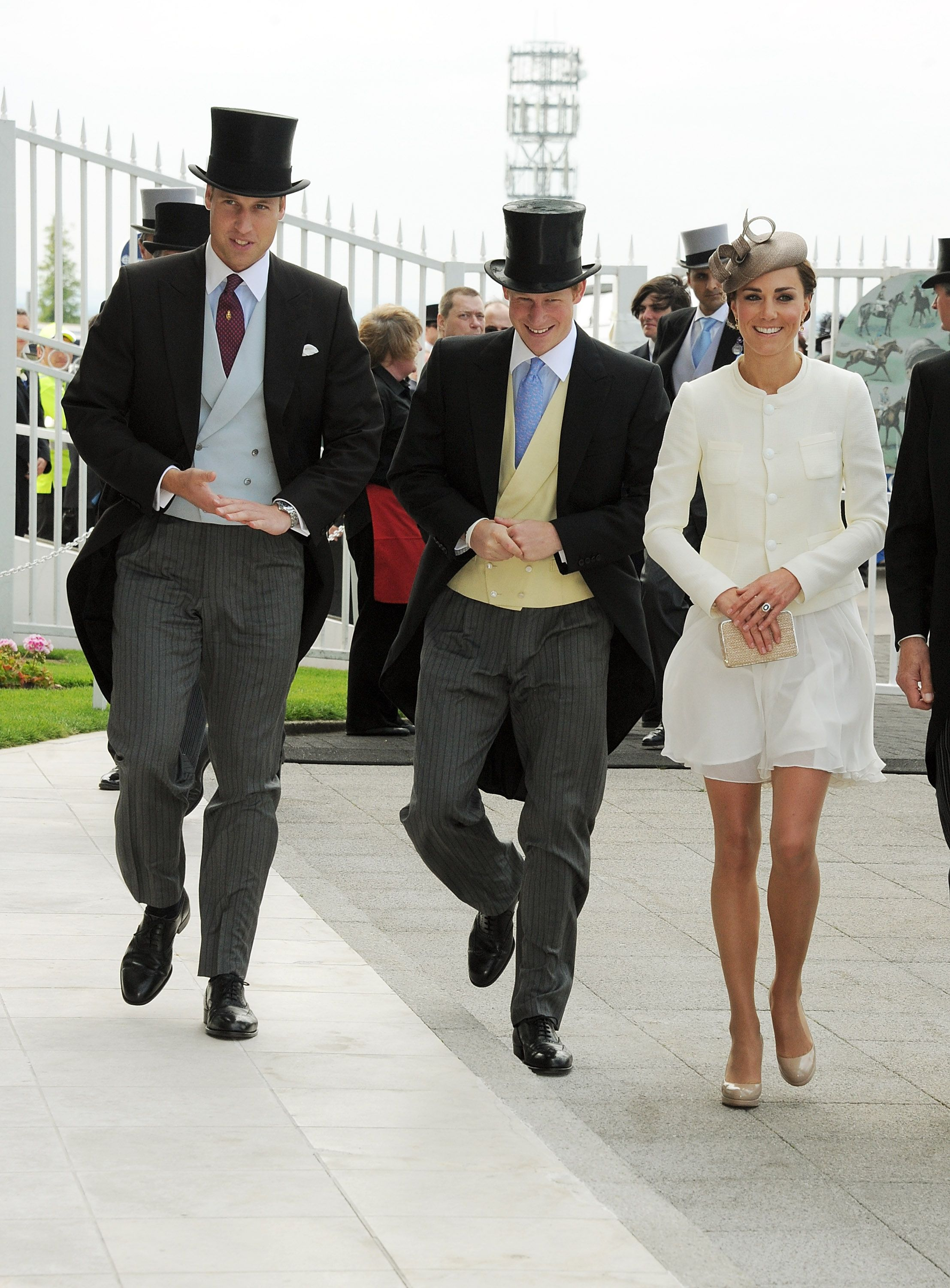 Kate was a vision in white on June 4, 2011 at the Epsom Derby in Epsom, England.