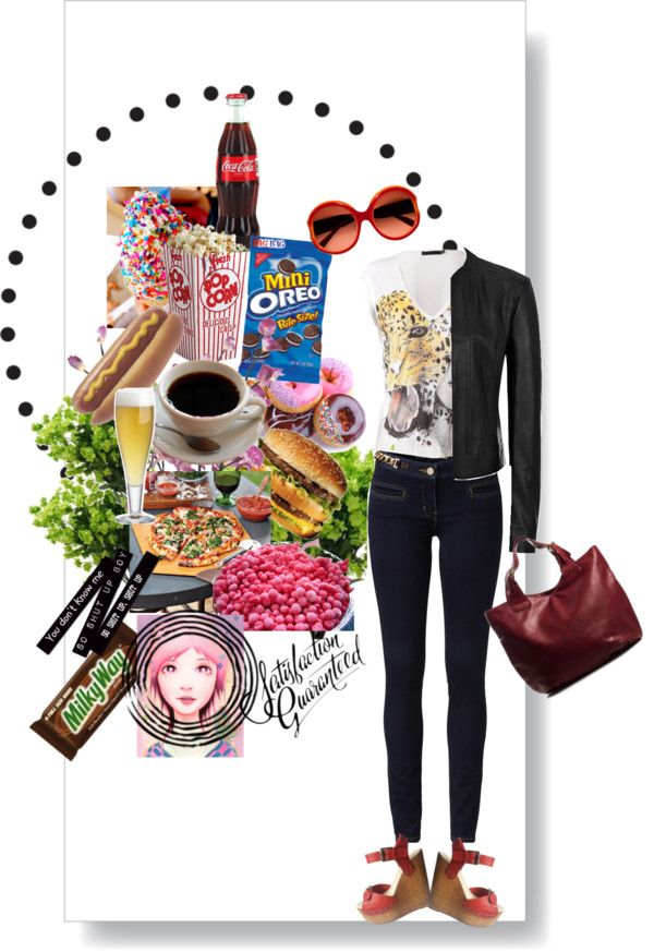 """""""junk food"""" by alexarbrito on Polyvore"""