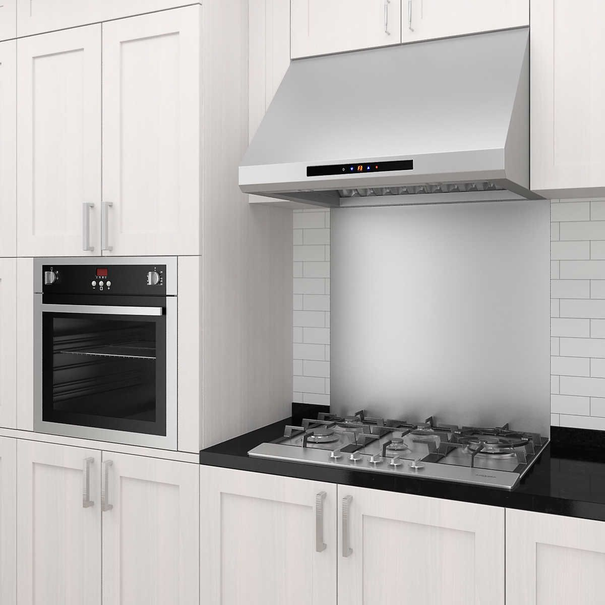 Ancona Pro Series Under Cabinet 30 Or 36 Range Hood With 850cfm Twin Motors In Stainless Steel Kitchen Range Hood Range Hood Kitchen Hood Design