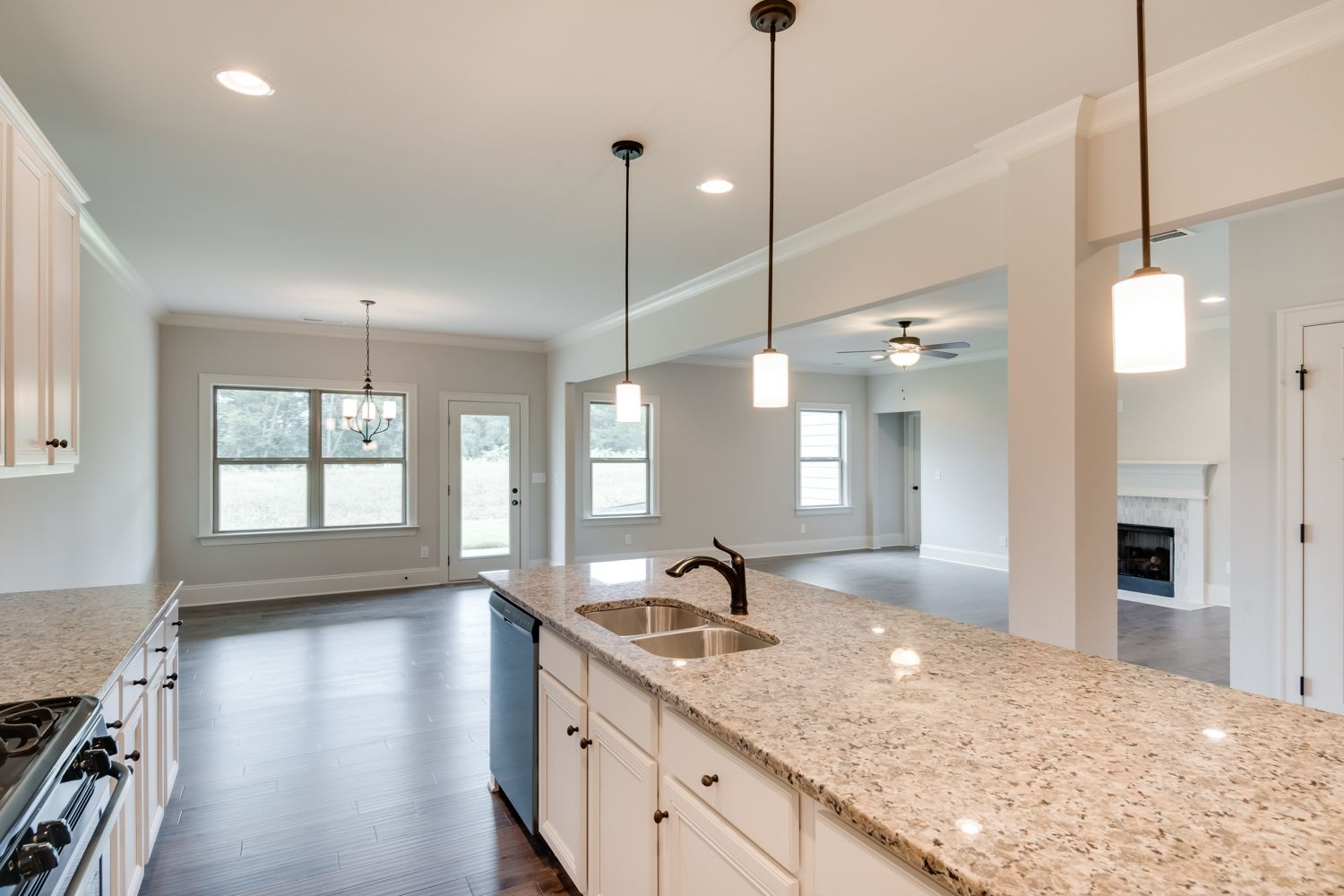 This kitchen is painted Agreeable Gray by Sherwin Williams ...