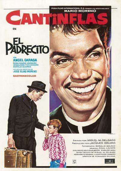 El Padrecito 1964 De Miguel M Delgado Tt0058438 Movie Posters Cantinflas Movie Posters Vintage
