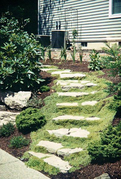 Marvelous Outdoor Steps And Stairs   Classic Garden Creations Inc.