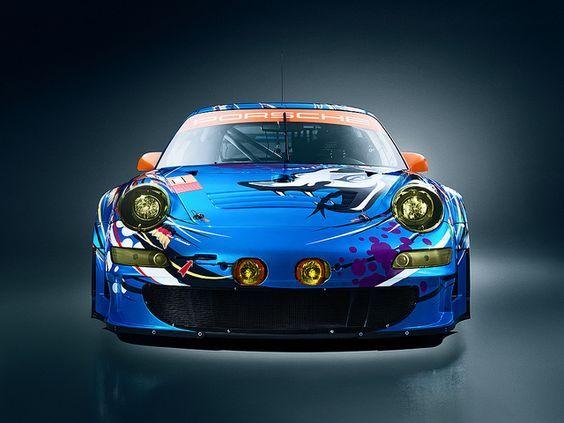 #Porsche 911 #GT3 #RSR #Flying_Lizard #Car #SportCar #SuperCar #Race