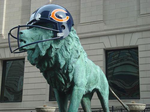 Chicago Bears Lion - RentalBeacon.com