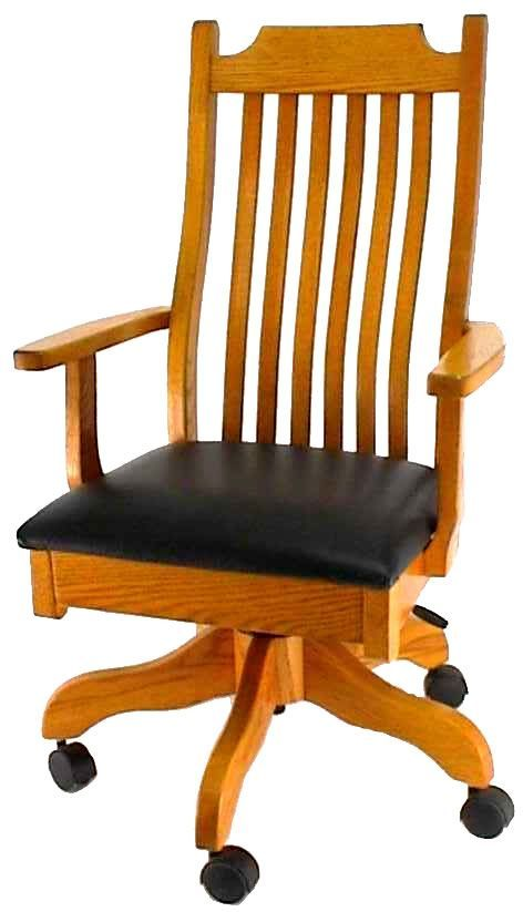 Desk Chair Made Evenflo Convertible High Marianna Amish Mission Edmond Pinterest In Usa