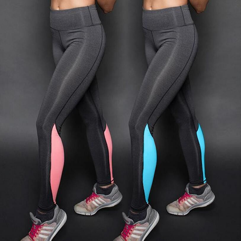 Women Waist Sport Pants Exercise Tights Sports Elastic Workout Yoga Fitness Running Slim Leggings Summer Pants Women Yoga Pants Women Sports Shorts Women