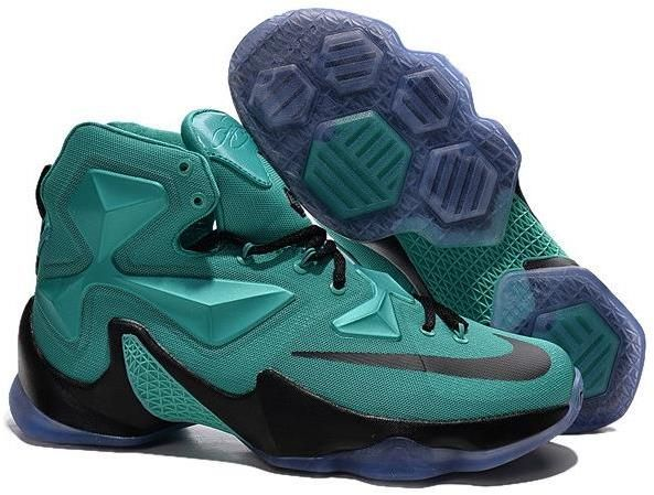 half off 6d58c 8cf69 Nike Lebron 13 Green Purple Black