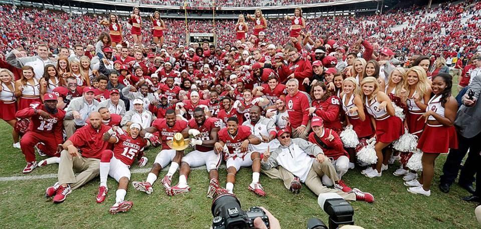 The joys of beating Texas! Red river, Oklahoma football
