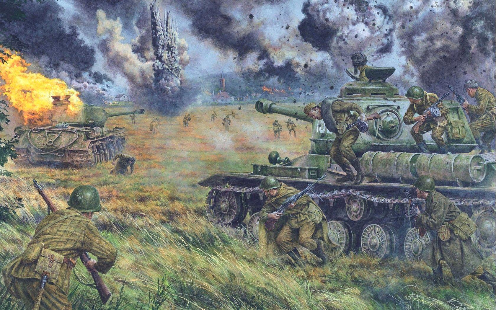 картинка русские танки на поле боя достоинства скрывать недостатки