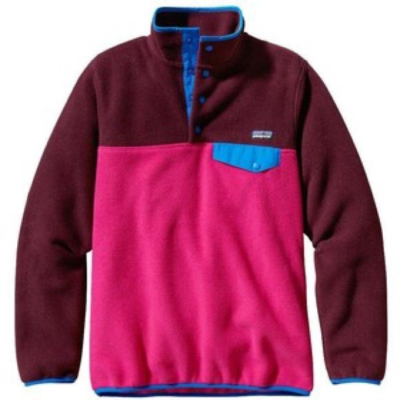 ❌SOLD❌Patagonia Snap Button Up Fleece Pullover | Patagonia ...