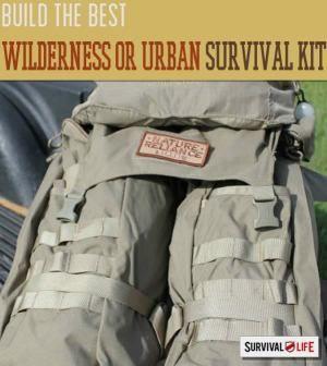Survival Kits for Rural or Urban Environments | Survival Prepping Ideas, Survival Gear, Skills & Emergency Preparedness Tips - Survival Life Blog: survivallife.com #survivallife #survival #prepping