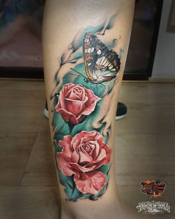 100 Amazing Butterfly Tattoo Designs Cuded Rose And Butterfly Tattoo Butterfly Tattoos For Women Butterfly Tattoo Designs