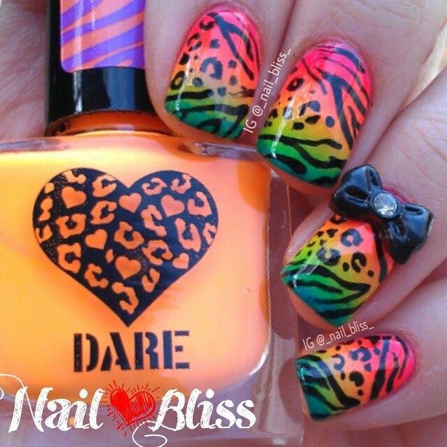 _nail_bliss_ #nail #nails #nailart | animal | Pinterest | Mehndi ...