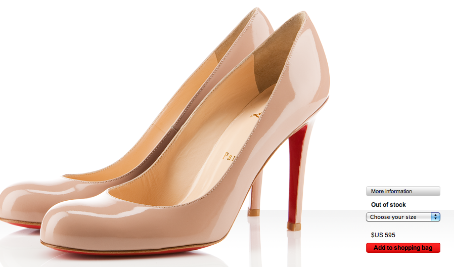 The pair of shoes every girl wants. [Christian Loubiton $595]