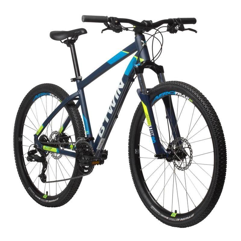 Vélo Vtt St 520 Noir Bleu 275 Rockrider Vtt Enzo Vtt Rockrider
