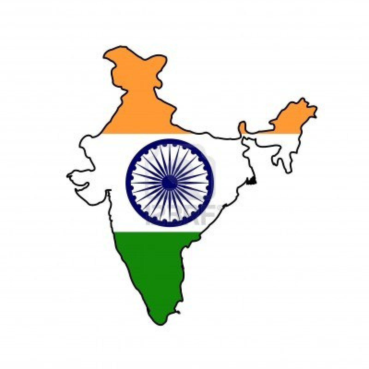 9320566-illustration-of-the-india-flag-on-map-of-country-isolated-on ...
