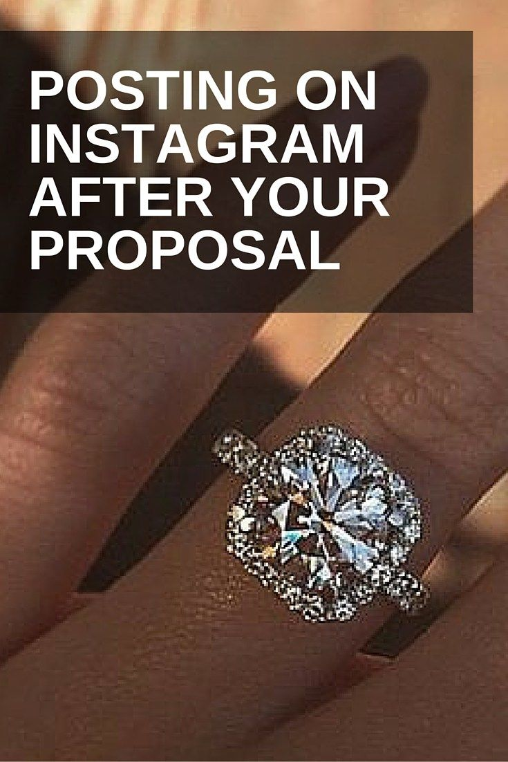 Do's & Don'ts When Posting On Instagram After Your Proposal