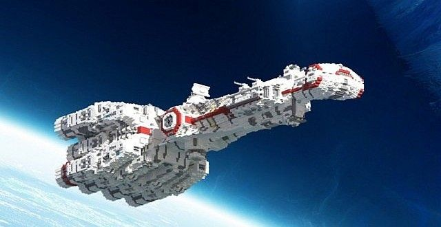 star wars ships in minecraft
