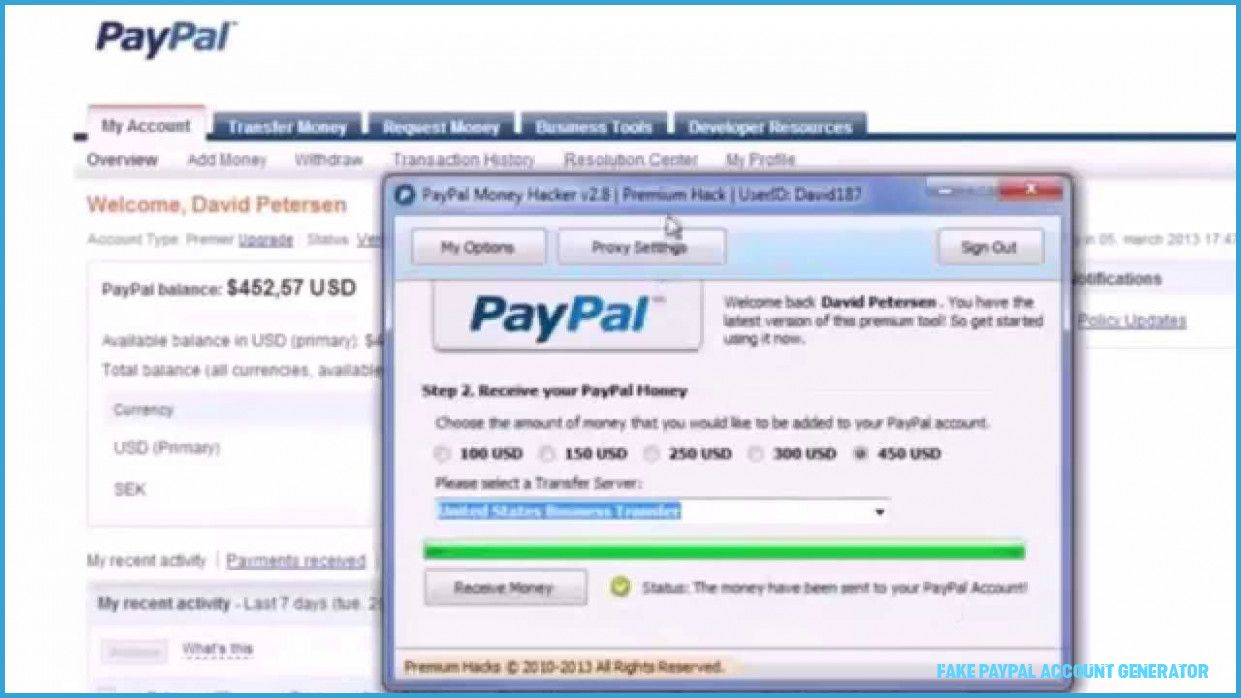 Reasons Why Fake Paypal Account Generator Is Getting More