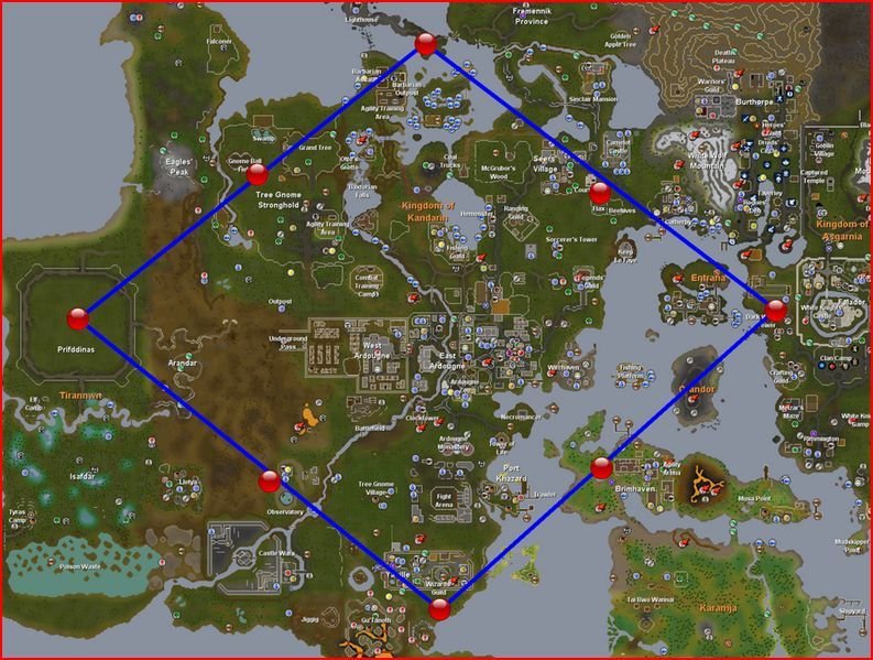 Crystal trees map Dancing Lark -RuneScape Pinterest Crystals - new osrs world map in game