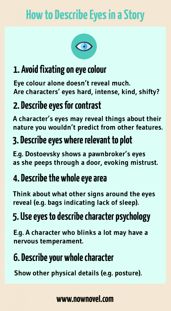 how to describe eyes in a story  7 tips in 2020  book