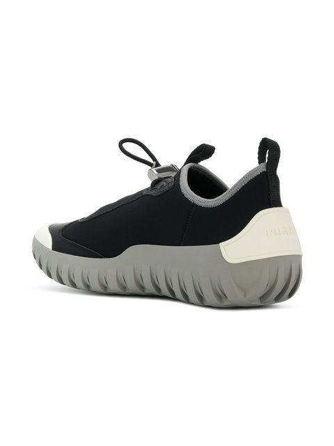 selected material hot-selling clearance wholesale dealer Prada neoprene laceless sneakers | schoenen | Sneakers ...