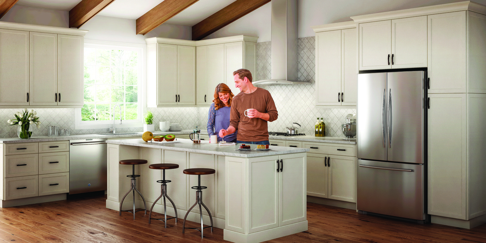 Wolf Transition Haven In Silk Kitchen Cabinets Kitchen And Bath Quality Cabinets