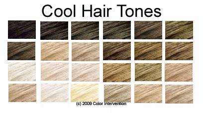 Hair Tone With Images Tone Hair Cool Tone Hair Colors Hair
