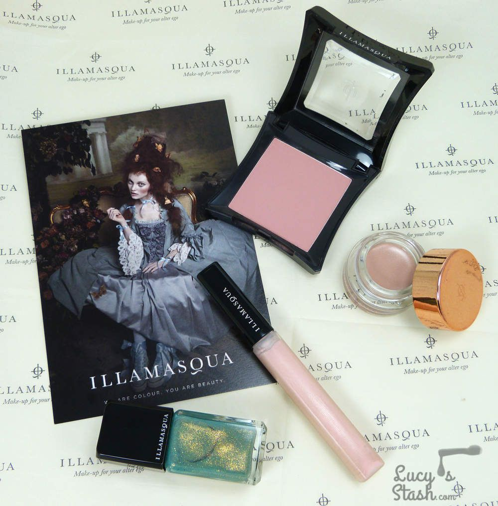 Illamasqua Once Collection - Review & swatches of Melange, Courtier, Exquisite and Naked Rose - Lucy's Stash