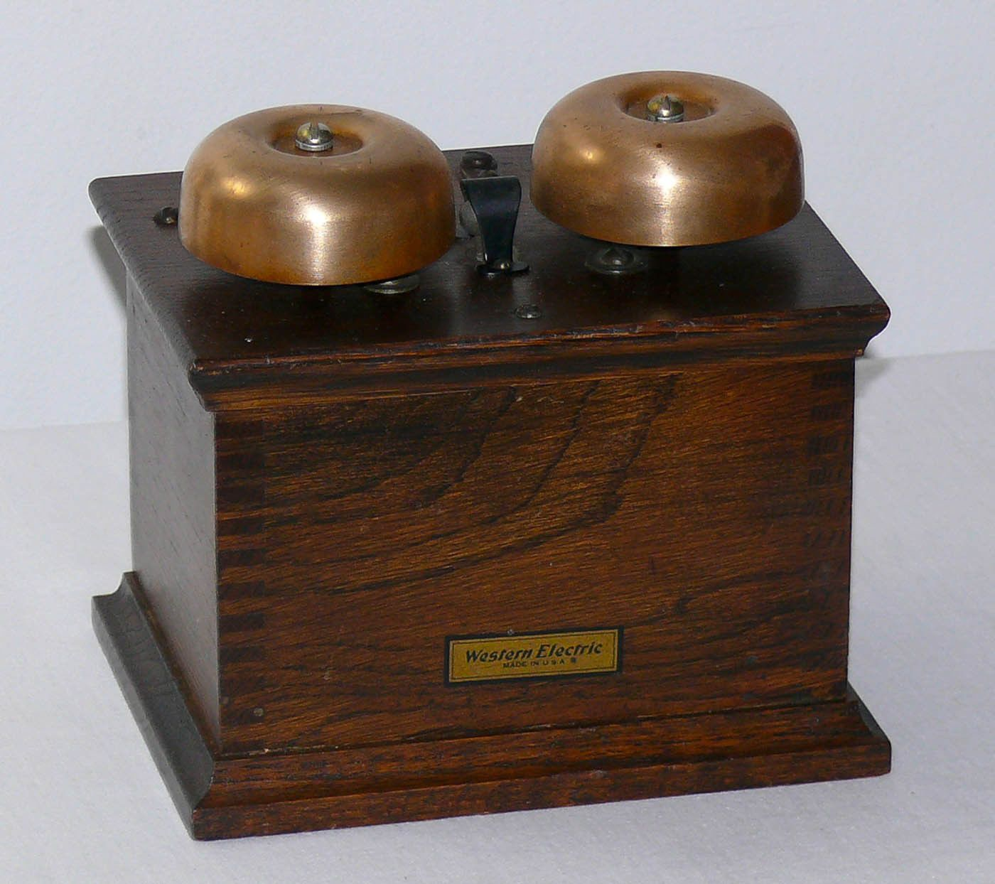 Vintage Western Electric 127F Telephone Extension Ringer Box, Original Condition | eBay