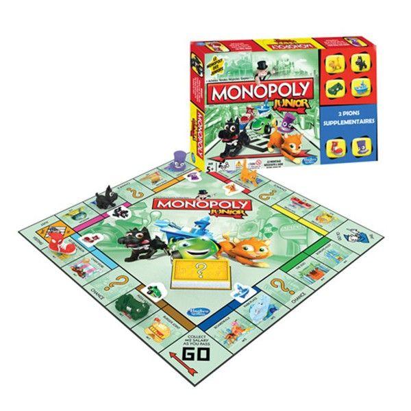 Super Monopoly Junior La Grande Récré Vente De Jouets Et Jeux