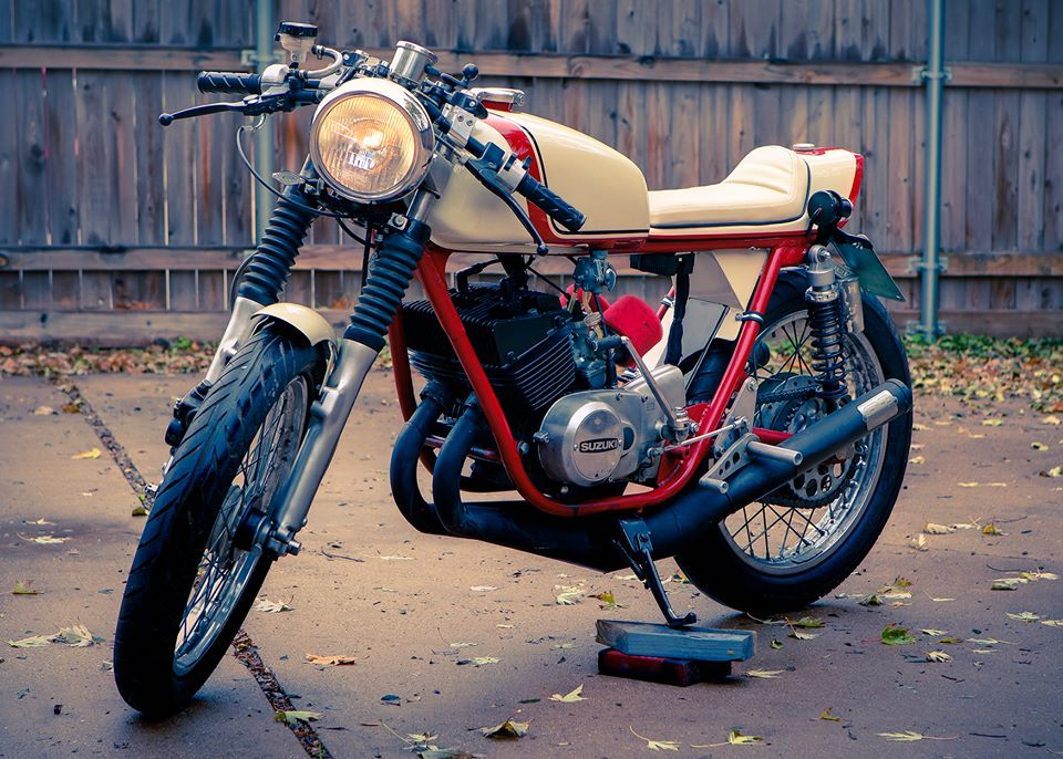 The 100 Parts Bike Becomes A Cafe Racer Beauty Cafe Racer