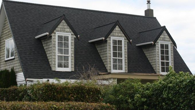 Best Landmark Moire Black Residential Roofing House 400 x 300