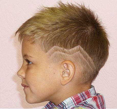 Coole Frisuren Für Kleine Jungs Haare Pinterest