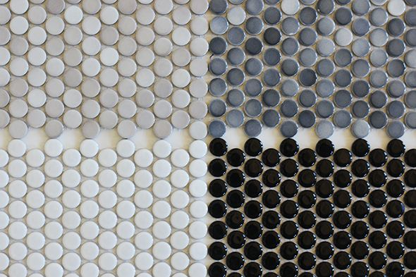 Penny Tile - $2.99/sheet @flooranddecor