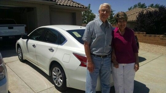 Happy Customers Frank And Dorothy Bought A Brand New Nissan Altima From Tim  Dahle Nissan Of