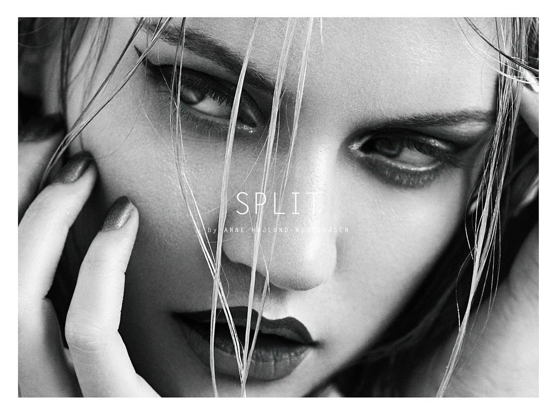 Split Photographed by Anne HøjlundNicolajsen Makeup