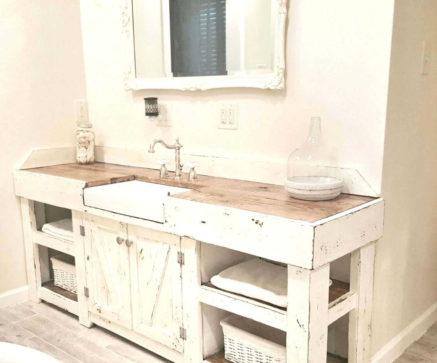 Amazing 36 Inch Kitchen Sink Base Cabinet Bathroom Farmhouse