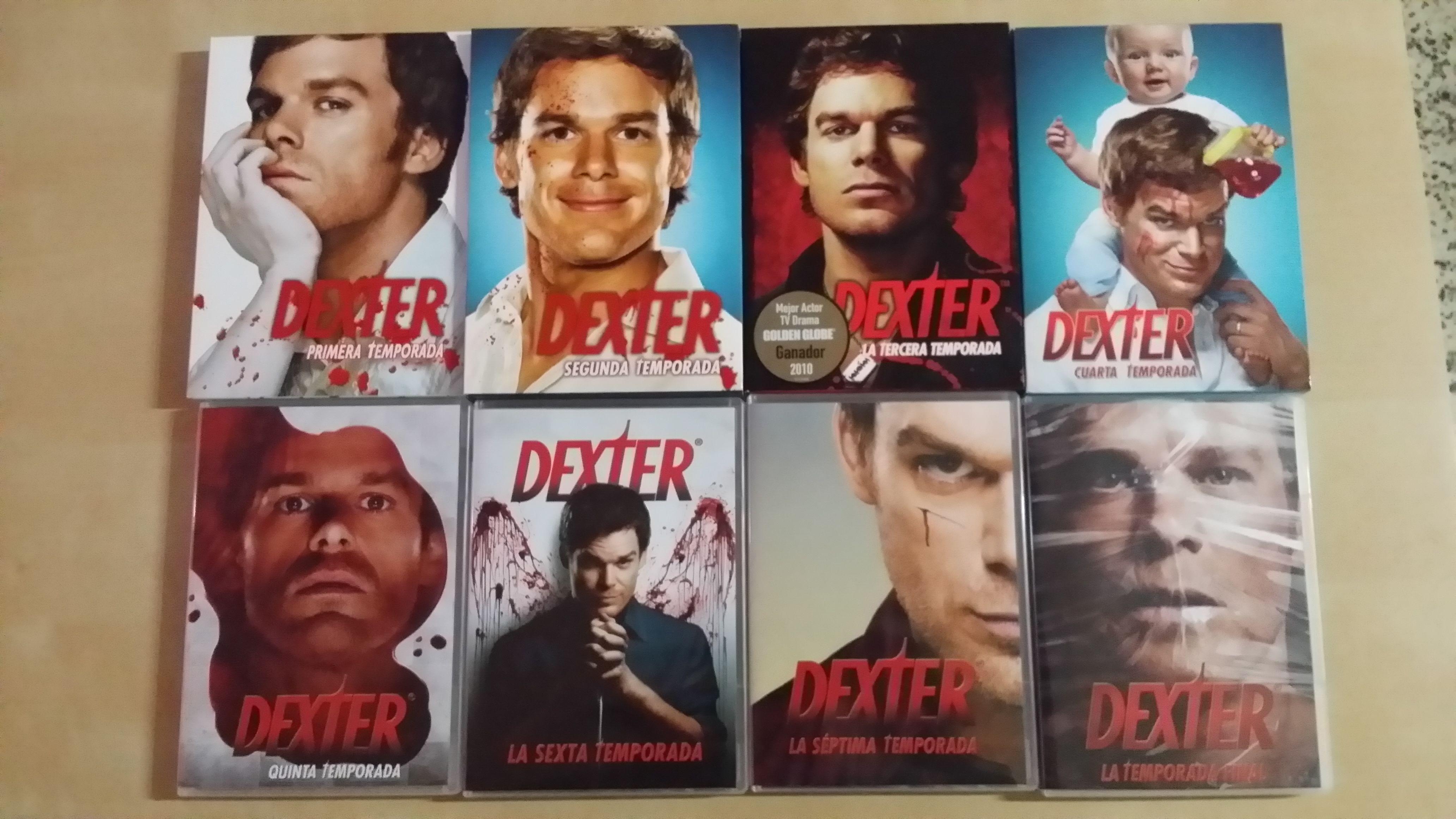 Dexter-Serie completa DVD   Colección de Películas y Series en ...