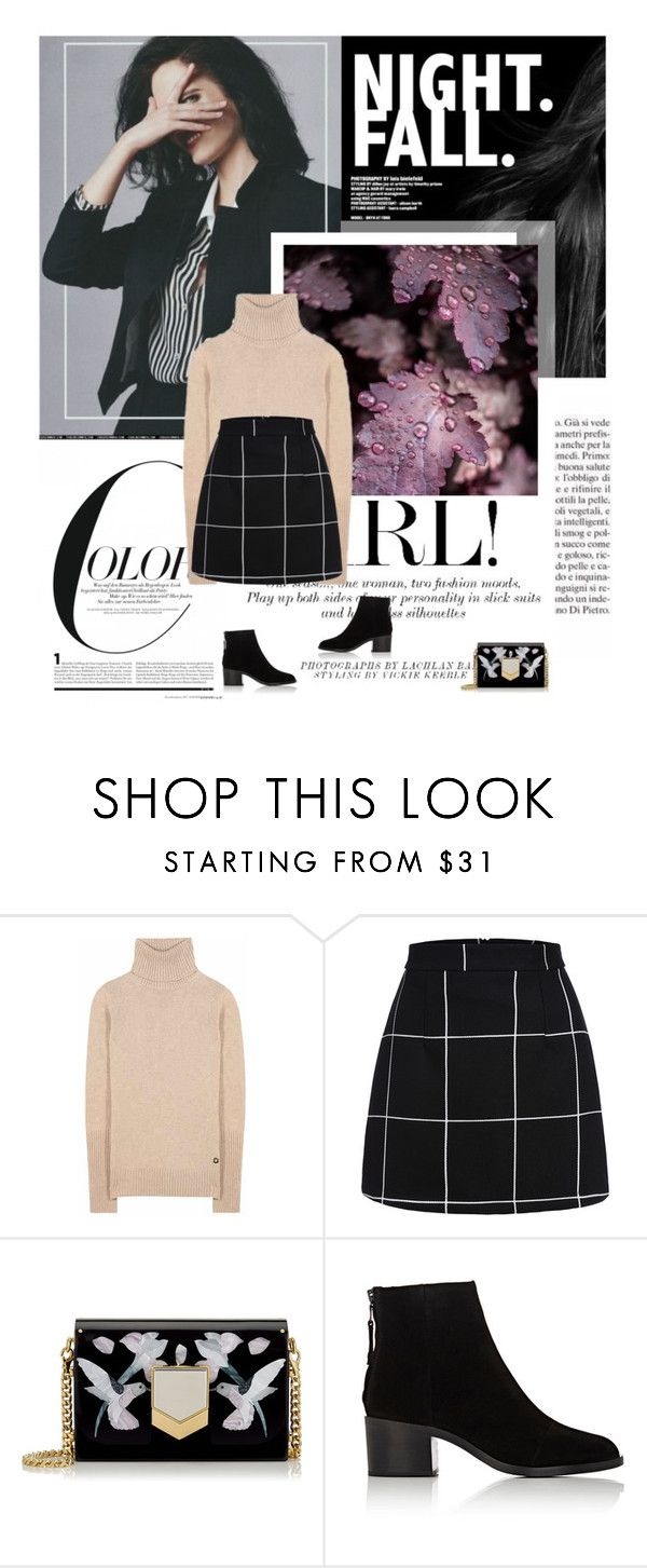 """10/02/2017"" by dunoni ❤ liked on Polyvore featuring Loro Piana, Jimmy Choo and rag & bone"