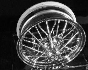 17 Inch 84s Poke Standard Wire Wheel Wheel 17 Inch Wheels