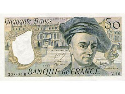French Currency France Franc
