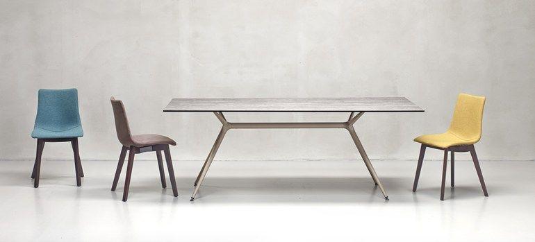 RECTANGULAR TABLE METROPOLIS XL | SCAB DESIGN