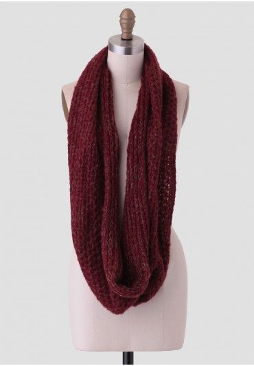 Fall Harvest Infinity Scarf   Modern Vintage New Arrivals