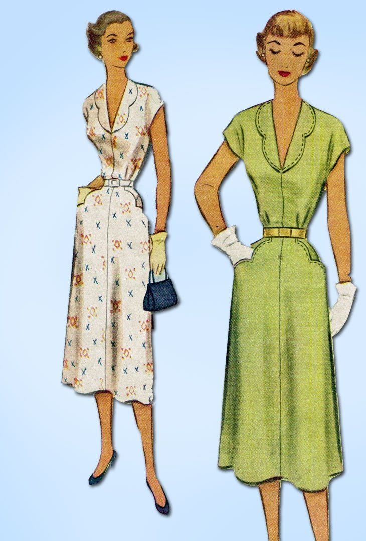 S vintage mccall sewing pattern plus size ladies dress size