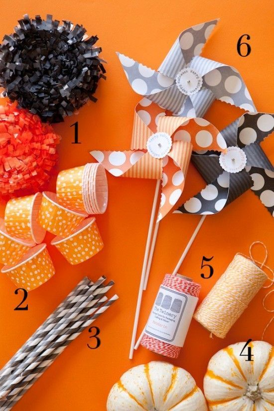 halloween party supplies from our shop featured on One Charming - halloween party decoration ideas