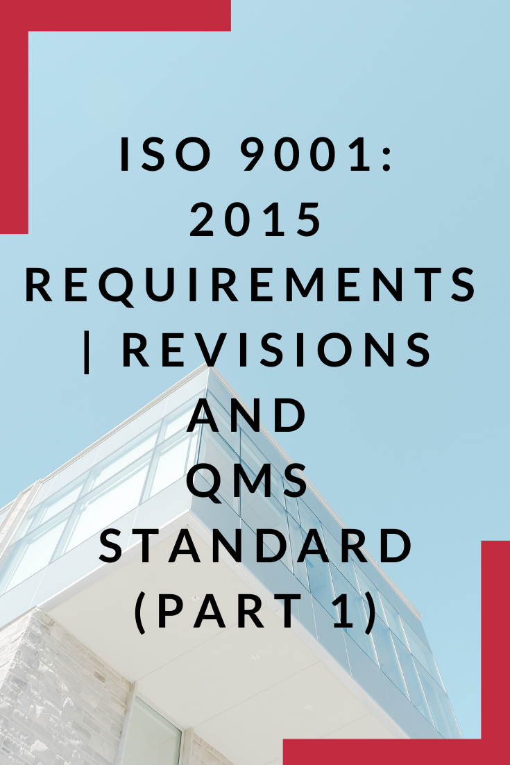 ISO 90012015 Requirements Types of organisation