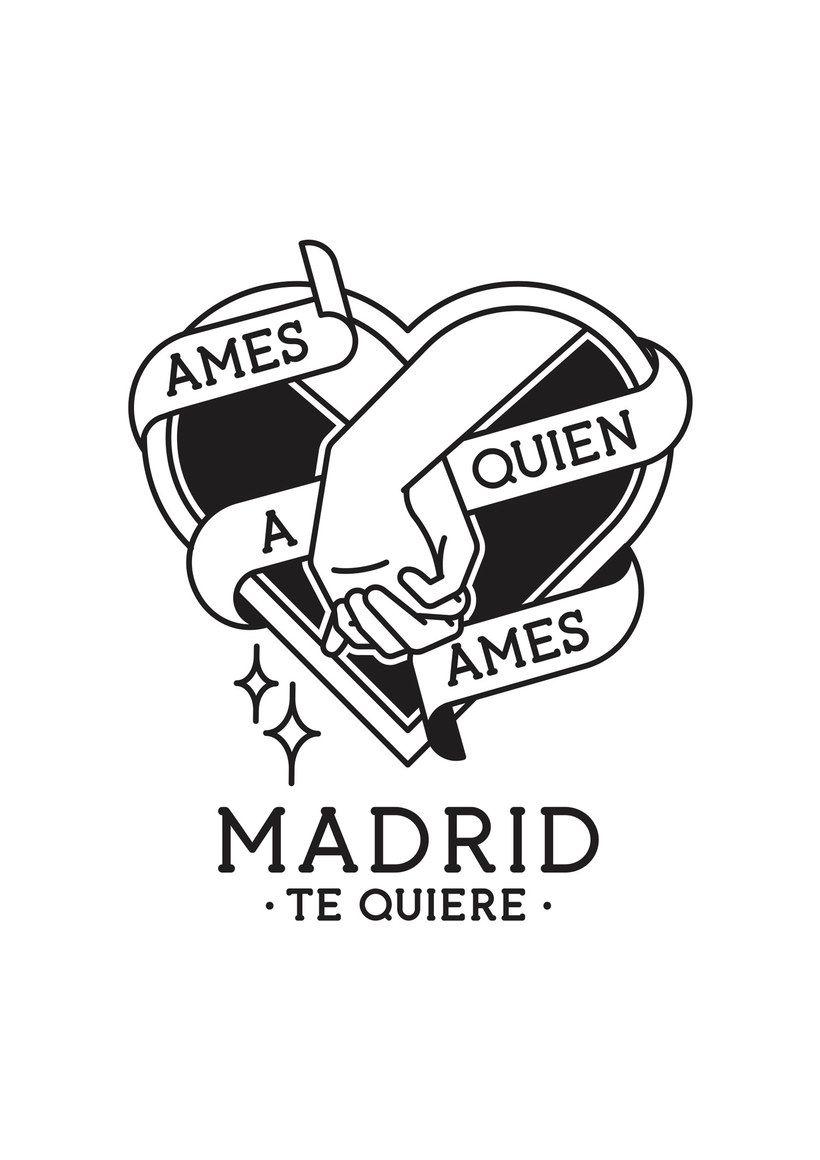 Descarga Gratis Los Carteles Del Orgullo Del Ayuntamiento De Madrid 8 Tatuajes De Flash Hojas De Personaje Disenos De Unas